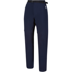 Regatta Xert III Stretch Pantalones Zip-Off Hombre, navy